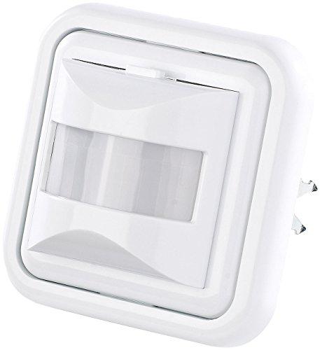 revolt Bewegungsschalter: Automatischer Lichtschalter mit PIR-Bewegungsmelder (Bewegungsmelder Unterputz)