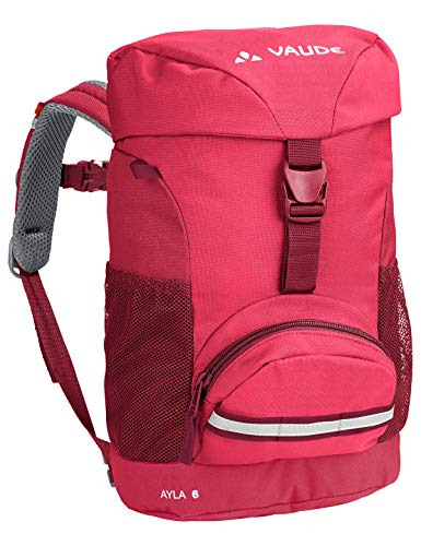 VAUDE Ayla 6 Sac à dos 5-9L Enfant Bright Pink FR: Taille Unique (Taille Fabricant: One Size)