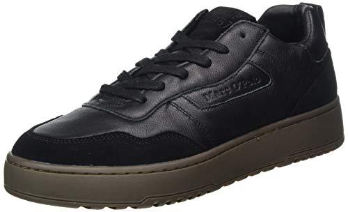 Marc O'Polo Herren 00726133501145 Sneaker, 990 Black, 43 EU