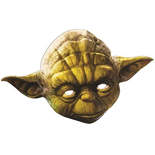 Star Wars - Careta de Yoda (Talla Única/Verde
