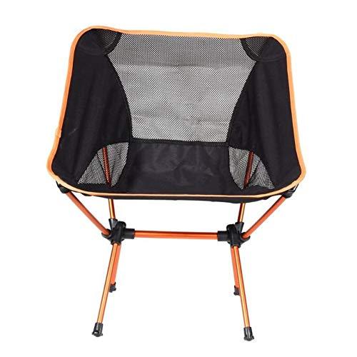 ZMCKD Camping opvouwbare stoel Draagbare Camping opklapbare stoel Stoel Buiten Vissen Camping Wandelen Strandstoel Lichtgewicht BBQ Picknick Tuinstoelen Stoel