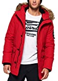 Superdry Parka Everest Rojo S Rojo