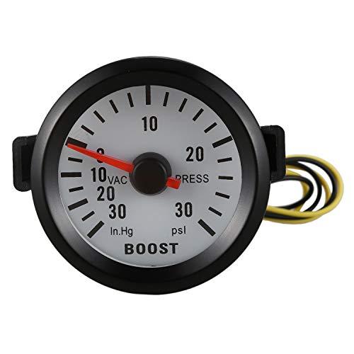 Manometro per misurazione Boost Turbo Depo Racing bar e /°C misuratore di pressione e temperatura dell/'olio 4/in 1/ 60/mm