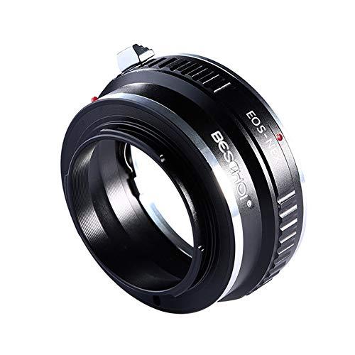 Beschoi Adaptador de Lente para Canon EOS Lentes a Sony Alph