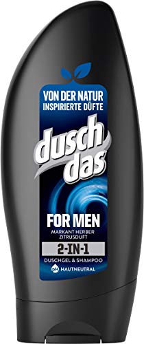 Duschdas For Men 2 in 1 Duschgel & Shampoo, 250ml