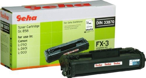 Geha Toner für Canon ersetzt FX-3 schwarz
