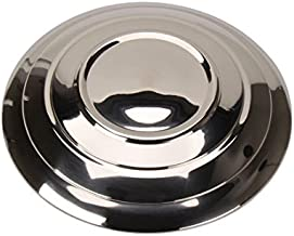 Stainless Steel Smooth Hubcaps, Fits 1932-1935 Ford