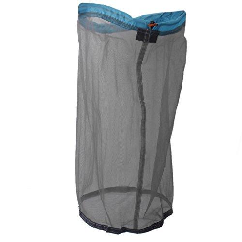 Amagogo Durable Nylon Ultraligero Camping Cordón Compresión Material Bolsa de Malla S-XXL - XL