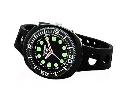 Watchmaker Milano Sub Orologio Uomo da Polso Submariner Vintage a Quarzo...