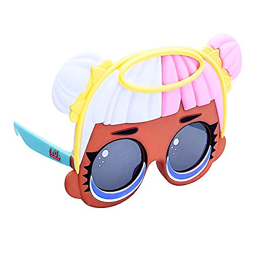 Sun-Staches Officially Licensed LOL Surprise Sugar, Instant Costume Characters Sunglasses, Party Favor Shades UV, Multi, One Size (SG3566)