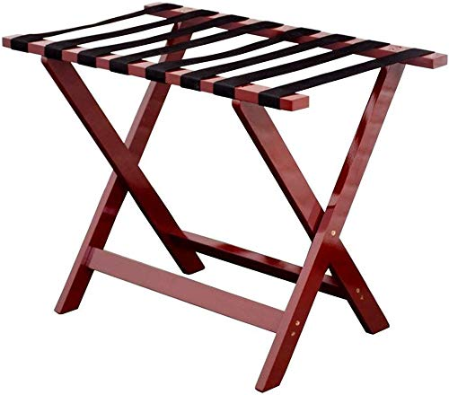 Save %57 Now! QTQZDD Room Luggage Rack, Hotel Solid Wood Folding Luggage Rack, Travel Break Folding ...