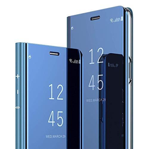 AICase Funda para Samsung Galaxy S8,Samsung Clear View Cover Flip Cover Carcasa,Soporte Plegable,Case de Teléfono para Samsung Galaxy S8