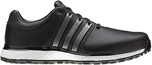 adidas TOUR360 XT-SL, Zapatillas de Golf Hombre, Negro (Negro/Plata Bb7916), 46 EU
