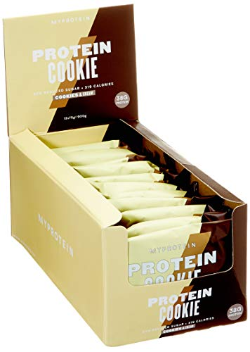 Myprotein Protein Cookie, Cookies & Cream 12 x 75 g