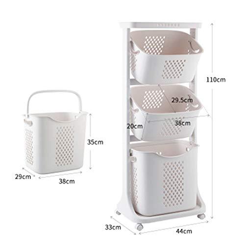 Wasmand zoekertje Opbergmanden PP materiaal Katrol Badkamer Design Storage Container,2