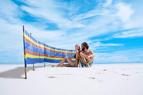 Vinsani Windschutz für den Strand