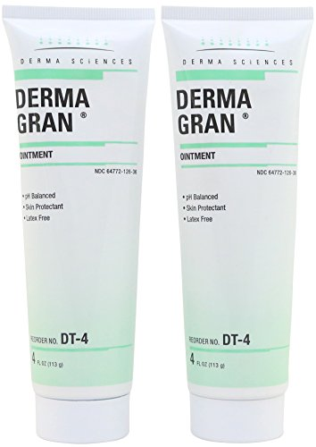 Dermagran Ointment - Skin Protectant - 4 oz Tube - Pack of 2