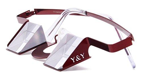 Y & Y Vertical Colorful Belay Glasses - Bordeaux Red