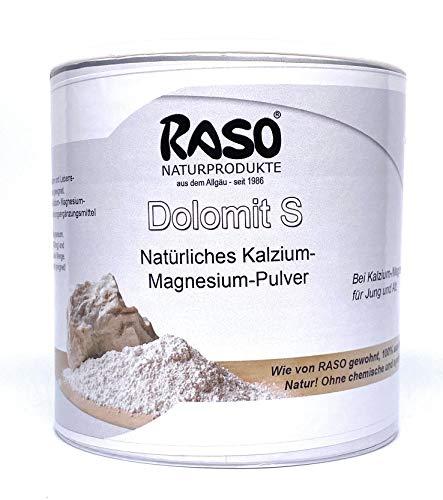 Magnesium - Kalzium DOLOMIT 500g VERSANDKOSTENFREI Magnesium natürlich + Kalzium Natürlich - Urgestein Dolomit aus der Natur ist eines der besten biogenen Kalzium- und Magnesiumquellen