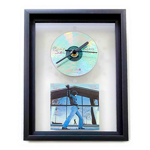 BILLY JOEL - Glass Houses: GERAHMTE CD-WANDUHR/Exklusives Design
