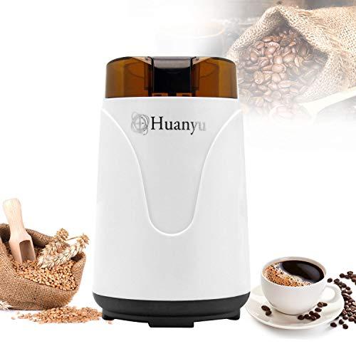 Huanyu 200w Getreidemühlen Elektrische Getreidemühle 500g Schrotmühle Multi-Zerkleinerer für Kaffeebohnen Gewürz Pfeffer Kräuter Nüsse Medizin