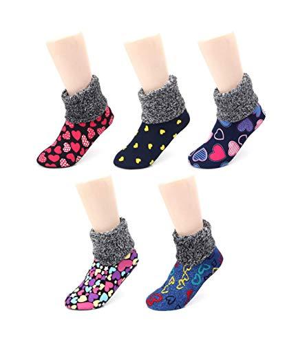 Fur Trim Ankle Socks
