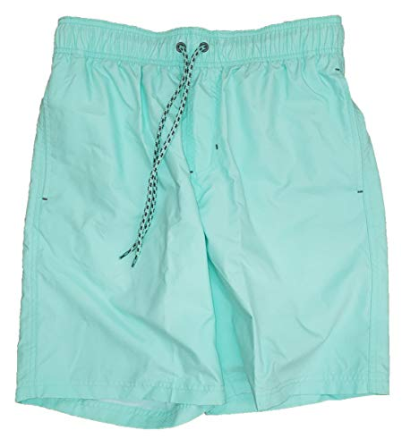 Aqua Verde Solid All Guy Swim Short Trunks - X-Large