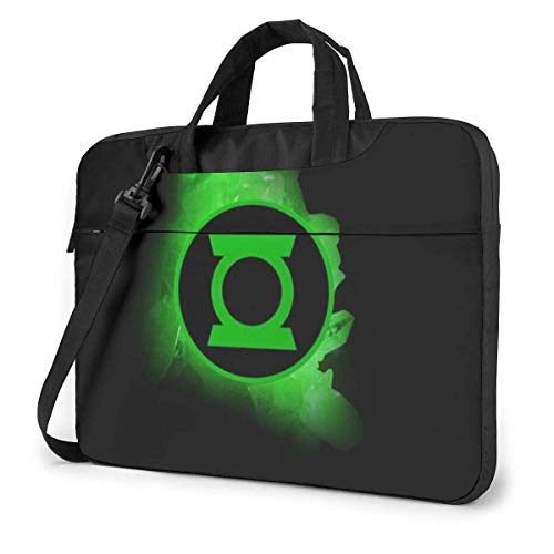 Green LAN-Tern First FLI-GHT 15.6 14 13in Stylish Customized Business Briefcase Computer Package Laptop Case Portable Shoulder Bag