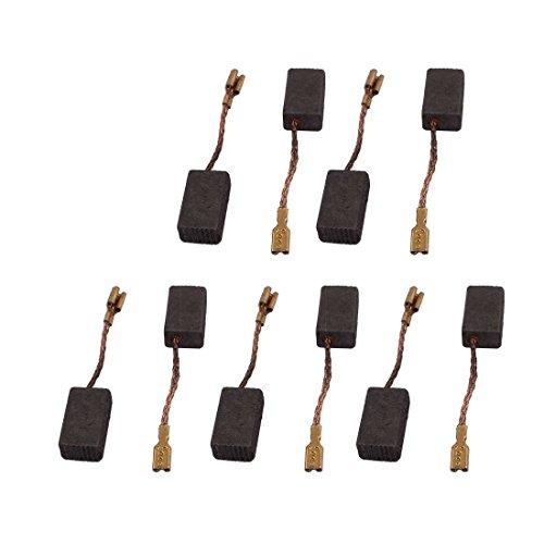 DealMux 5 Pares Taladro eléctrico 6 mm x 9 mm x 16 mm Motor Cepillos de carbono Pieza de repuesto
