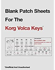Blank Patch Sheets For The Korg Volca Keys: Unofficial And Unauthorized