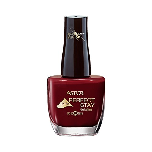 ASTOR Perfect Stay Gel Shine Nagellack, Farbe 619 Enigmatic Berry, 1er Pack (1 x 12 ml)