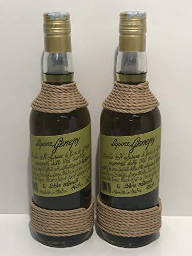 Liquore genepy 2x 70 cl, genepy likor nur aus der infusion von blumen gewonnen hergestellt in italien
