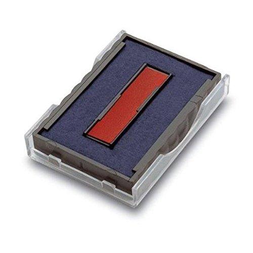 Trodat 2Stück Kassetten Ersatz-Stempelkissen für Stempel 6/4750/2zweifarbig blau–rot