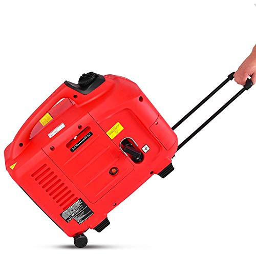 Goplus Gas-Powered Inverter Generator Portable Digital 4 Stroke 53cc Single Cylinder CE, GS, CARB & EPA Compliant (3500W)