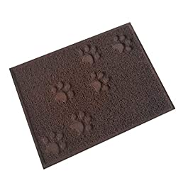 BENHAI Pet Food Mat Dog Food Mats Non Slip Pet Food Tray Cat Food Mat Wipe Clean Cat Litter Catcher Mat Kitten Litter Tray Mat Dog Bowls Non Slip Mat