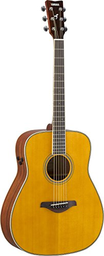 Yamaha FG-TA Transacoustic Guitar w/ Chorus and Reverb, Vintage Tint