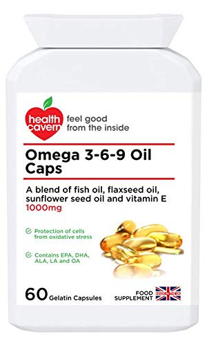 Health Cavern Omega 3-6-9 Oil Caps