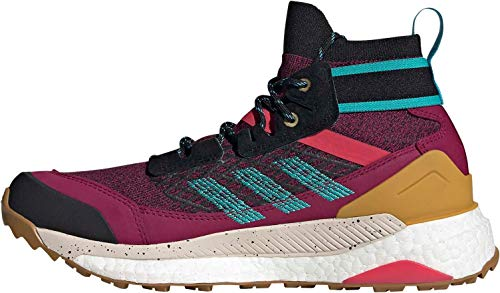 adidas Terrex Free Hiker W, Zapatillas de Fitness para Mujer, (Power Berry Alumina Core Black), 43 1/3 EU