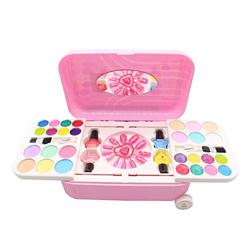 Nagellakset kinderen & nageldesign voor meisjes kinderdagcadeau, bevat nagelstickers en nagellak