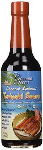 Coconut Secret, Teriyaki Sauce, Coconut Aminos, 10 fl oz (296 ml) by Coconut Secret