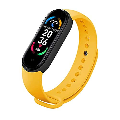 M6 Relojes inteligentes para hombres y mujeres Smart Band Relojes ritmo cardíaco presión arterial monitor del sueño podómetro reloj de pulsera inteligente