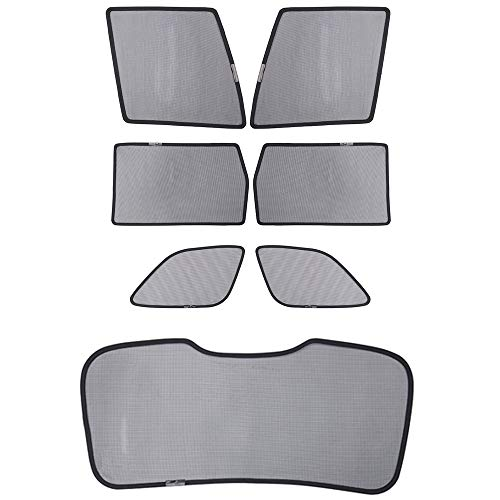 Bwen Magnetic Car Window Shade(7 pcs) Sun Shade for Car Windows-UV,Sun,Glare Protection Anti-Mosquito for Your Baby Fit for Jeep Grand Cherokee 2014 2015 2016 2017 2018