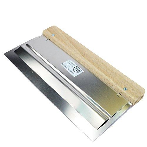 ROTIX Doppelblatt-Flächenpachtel rostfrei Blattkante leicht gerundet verschiedene Größen Flexspachtel Doppelblattspachtel (270 mm)