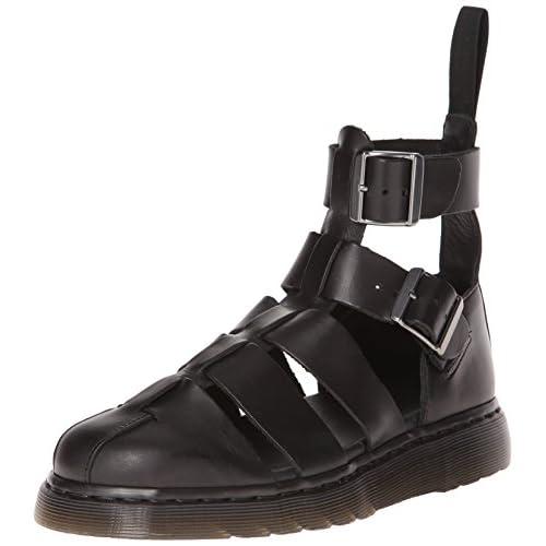 Dr. Martens GERALDO Brando BLACK, Scarpe con cinturino alla caviglia, Nero 39