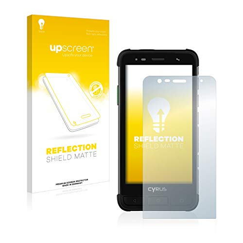 upscreen Entspiegelungs-Schutzfolie kompatibel mit Cyrus CS45 XA – Anti-Reflex Bildschirmschutz-Folie Matt