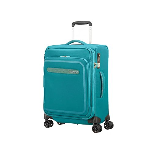 American Tourister Airbeat - Spinner 55/20 Expandable Equipaje de mano, 55 cm,...