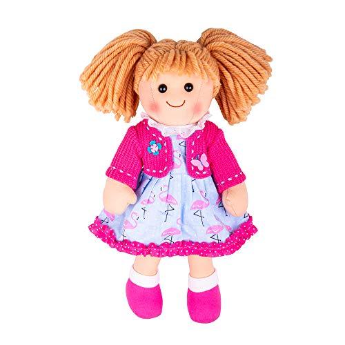 Bigjigs Giocattoli Maggie 30 Centimetri Bambola Molle Rag