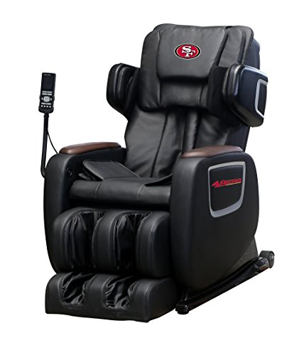 Lowest Prices! NFL Electric Full Body Shiatsu Massage Chair Foot Roller Zero Gravity Wheat (SAN Fran...