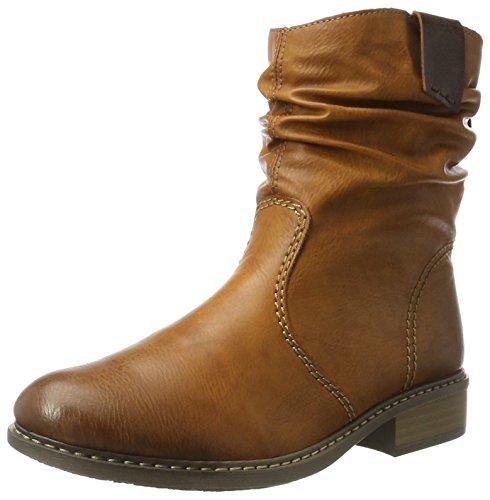 Rieker Damen Z4180 Stiefel, Braun (Cayenne/Kastanie), 41 EU