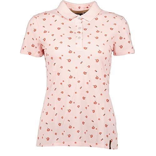 ICEPEAK Damen Lucille Polo Shirt, rosenrot, M